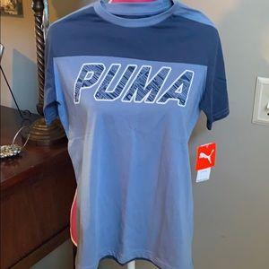 Puma boys shirt size L 14/16 NWT